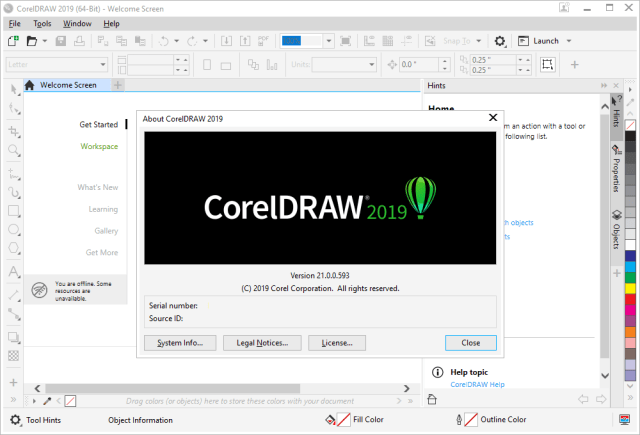 CorelDRAW Graphics Suite Crack license