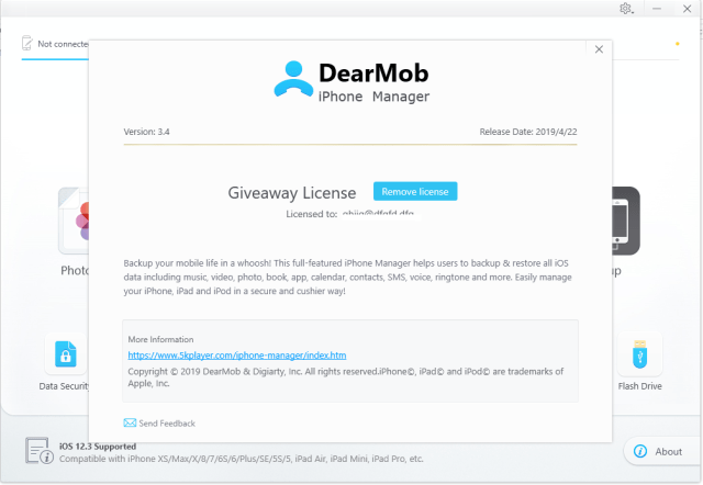 DearMob iPhone Manager Crack Serial Key