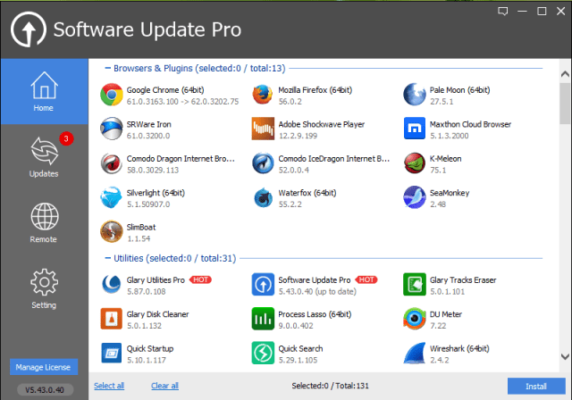 Glary Software Update Pro Crack Patch