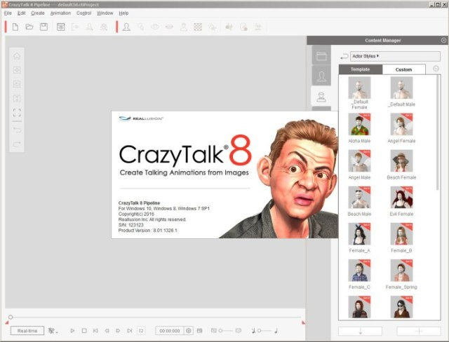 Reallusion CrazyTalk Pipeline Crack Serial Key