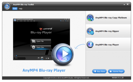 AnyMP4 Blu-ray Toolkit crack Patch