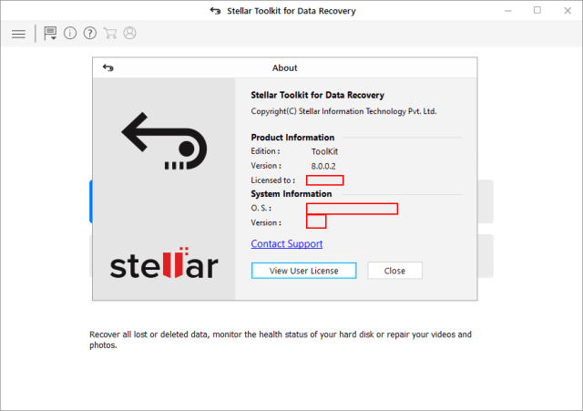 Stellar Toolkit for Data Recovery crack patch