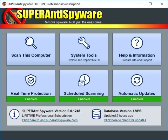 SUPERAntiSpyware Professional Crack Serial key