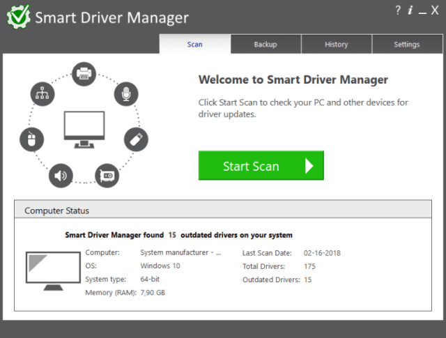 Smart Driver Manager Crack Serial Key