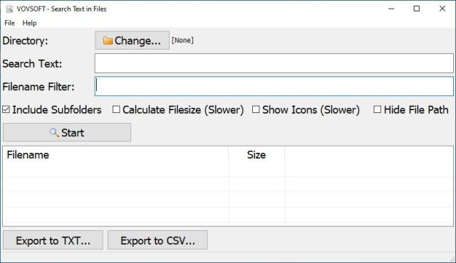 VovSoft Search Text in Files Crack Serial Key