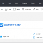 EaseUS PDF Editor is an all-in-one PDF reader and creator, which enables you to modify the PDF files effortlessly. With the help of this program, you can create and edit a PDF from many common files including images and Microsoft Office documents. Speaking of the editing, it lets you insert, delete, reorder, extract, or crop a PDF as you want. In addition, you can insert footer and header, or add page numbers to PDF in no time.