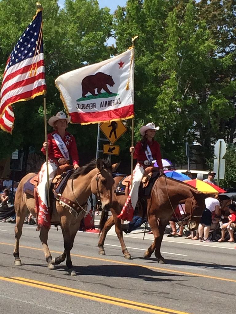 Bishop Mule Days Parade 2014