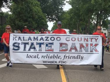 KCSB Staff Schoolcraft 4th of July Parade