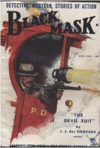 Black Mask Detective Magazine