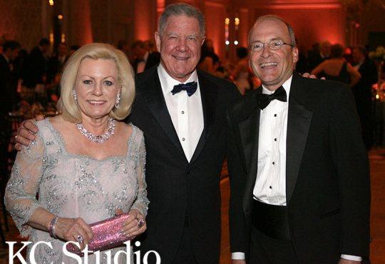 Ball Co-Chair Julia Irene Kauffman, Joe Brandmeyer and Dave Lady