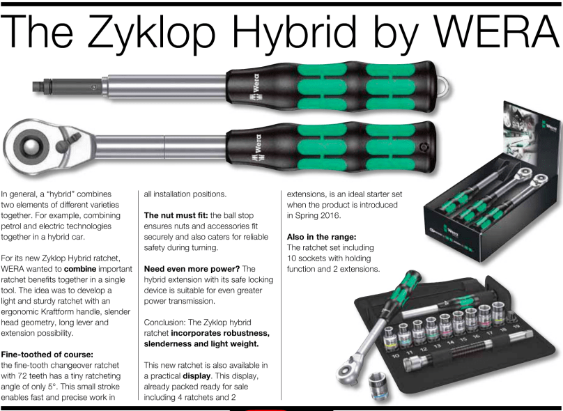The New Wera Zyklop Hybrid & Update on New Wera Tools ...