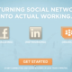We're turning social networking into actual networking