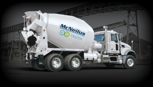 McNeilus Truck with KC agency logo