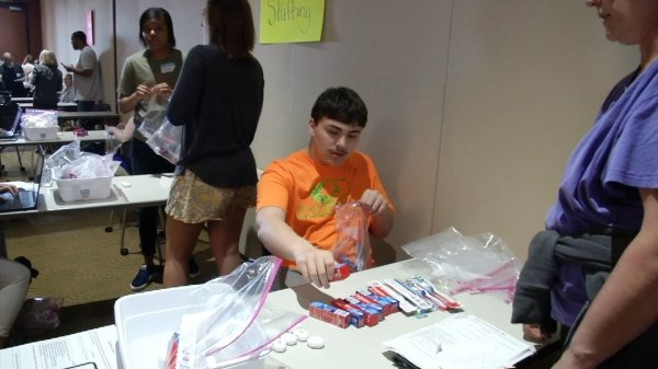 Special education students put their skills to the test in ...