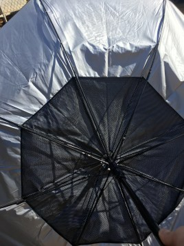 umbrellas always turn inside out