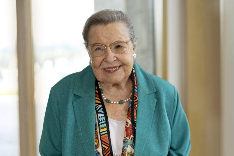 Portrait Frau Prof. Ursula Lehr © BAGSO/Sachs