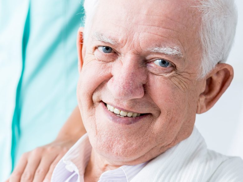 Portrait älterer Mann