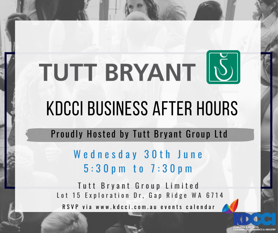 Business After Hours - Tutt Brant Group Ltd 30th June 2021