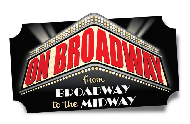 On Broadway: from Broadway to the Midway logo