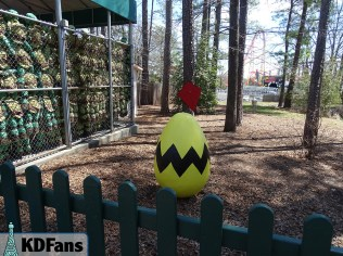 Easter Eggs around the park