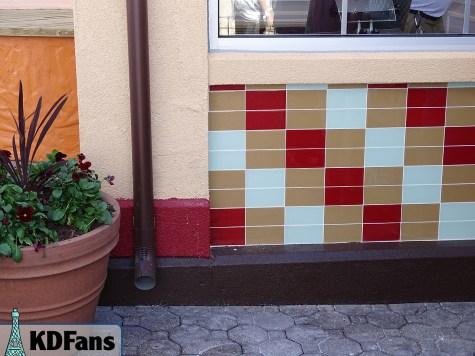 Outside tile work