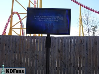 Fun Fact in the Intimidator 305 queue.