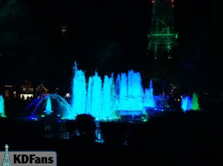 Baby Blue Fountains