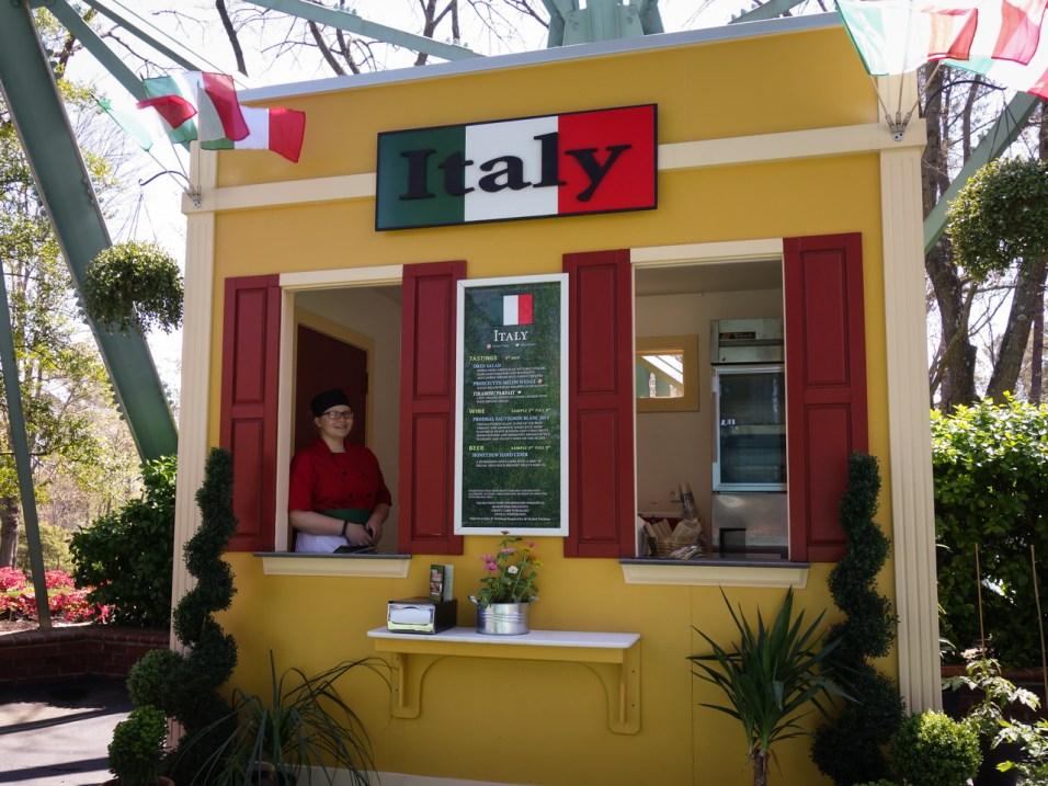Spring Bloom Italian Booth