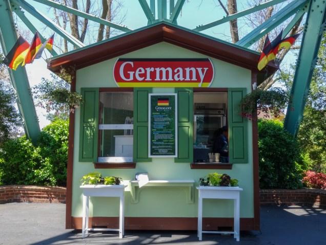 Spring Bloom German Booth
