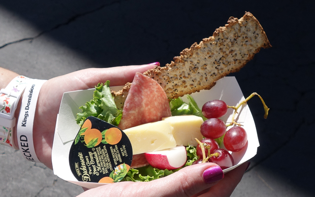 Spring Bloom Charcuterie and Cheese