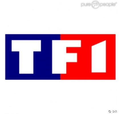 Within each store are shelves of products, each tagged with a company logo that tells consumers who provides that parti. TF1 - kdimageslogo