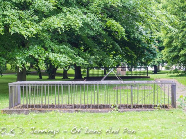 Hamburg In Colour Series - Park with Cages