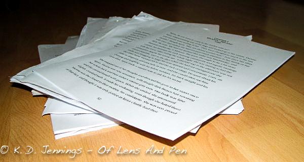 Manuscript Writing Process