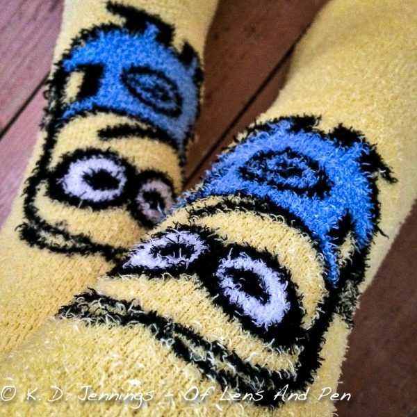 Warm and Comfy Minions Socks