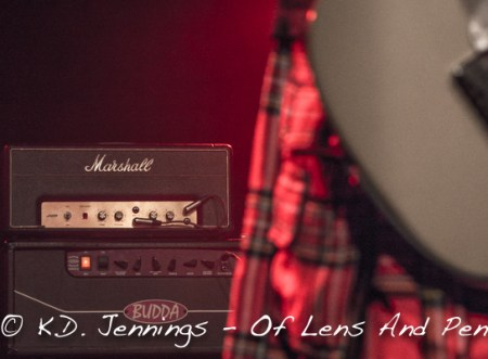 King King | Reaching For The Light Tour 2017 - Alan Nimmo kilt amp