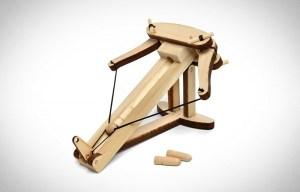 wooden ballista launcher Knuckle Dragger Magazine