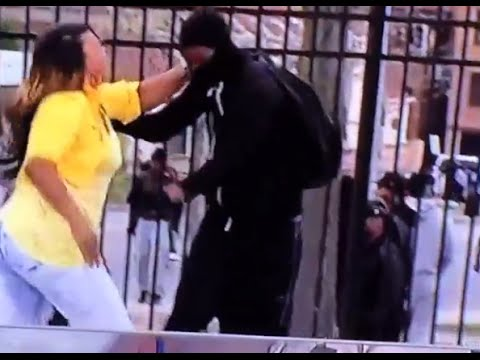 Baltimore Mom Beats The Brakes Off Of Her Rioting Son
