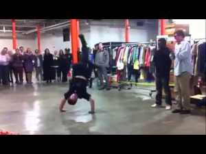 NYPD Breakdance Cop