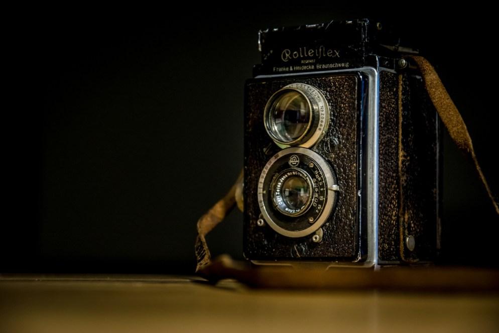 Retro Rolleiflex TLR