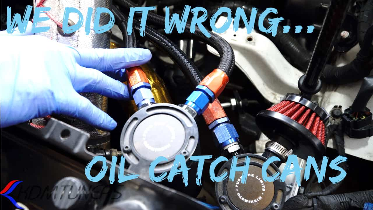 How to properly install catch cans, PCV explanation and more! - Kdm