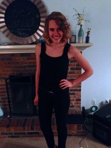 "I remember wanting to skip my own Halloween party because I thought I looked bad in my ""Sandy"" (Grease) costume"