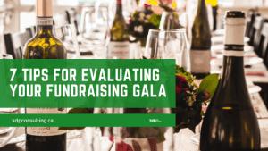 Evaluating Fundraising Galas | kdp nonprofit consulting