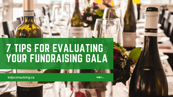 Evaluating Fundraising Galas | kdp nonprofit consulting