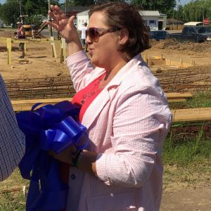 Vidalia Technology Center - groundbreaking - Heather Urena