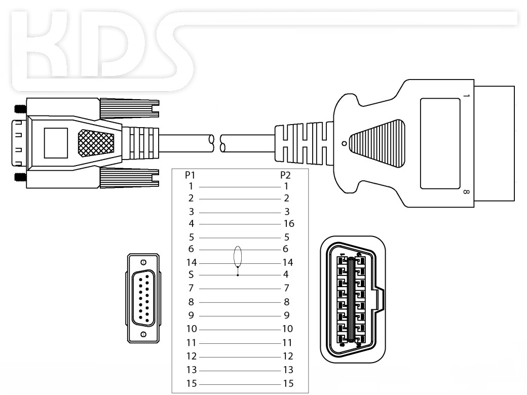 Obd 2 Cable Connection H