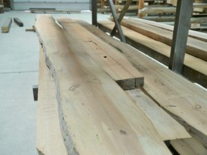 Hand-Hewn Beams for Brookline, New Hampshire