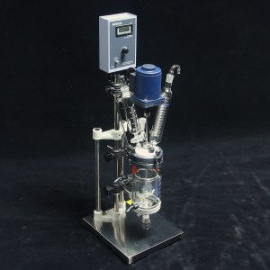 jacketed glass reactor FC0502-2l