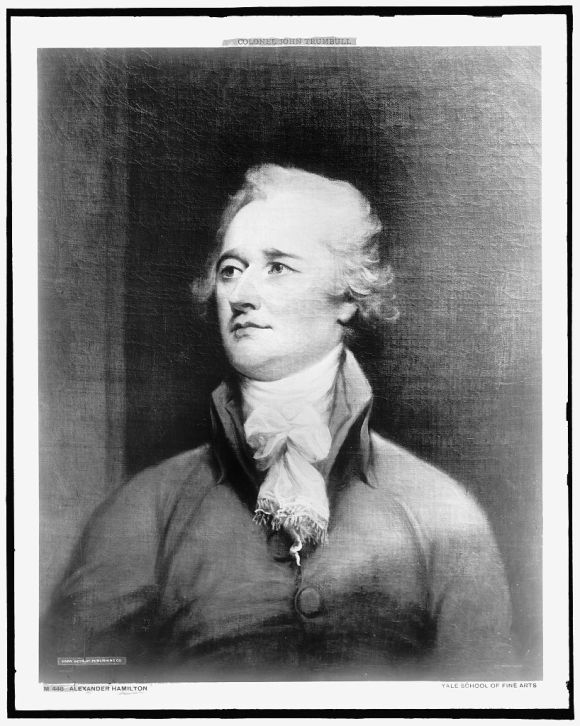 Alexander Hamilton was the first secretary of the U.S. Treasury and pushed for consolidating national debt after the Revolutionary War.