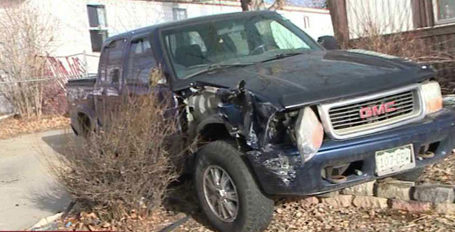 Suspect accused of running over officer, causing damage in Federal Heights, Colo. neighborhood