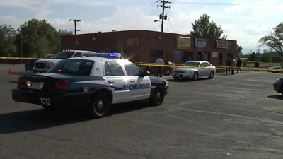 The crime scene on East 64th Ave. Commerce City. May 17, 2012.